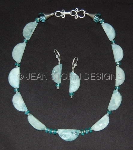 NER7401 - Necklace/Earring Set by Jean Storm Designs