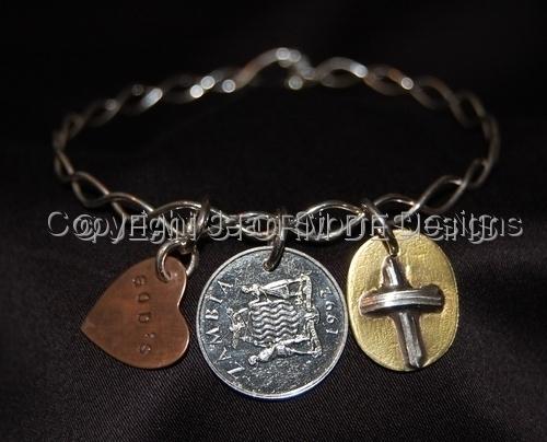 B8300R - Zambia Commemorative Bracelet