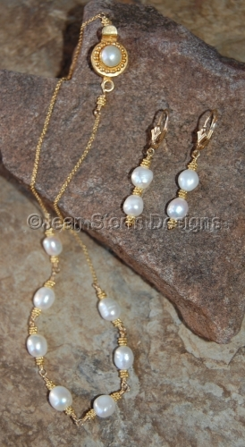 NER7402 - Freshwater Pearls by Jean Storm Designs