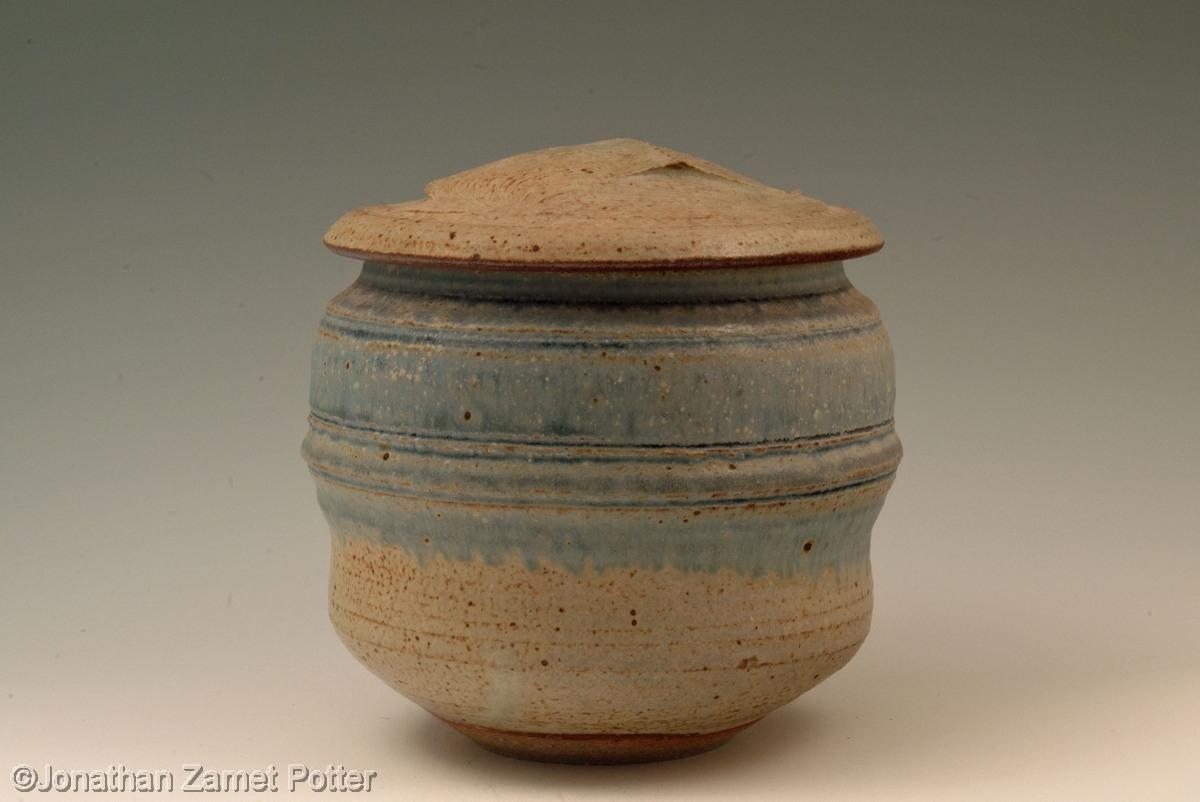 Karen Karnes lidded jar (large view)
