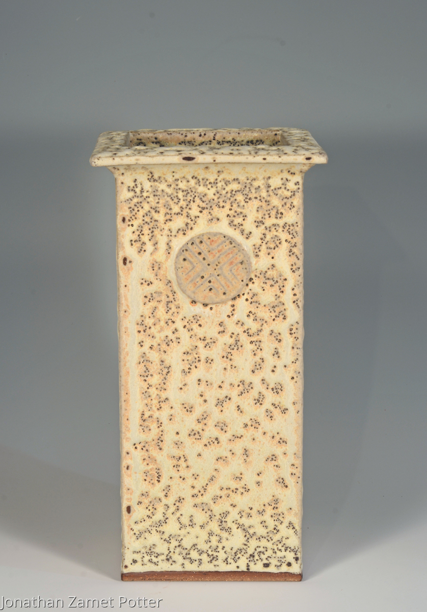 Stoneware vase (large view)