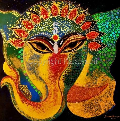 Ganesha in Odissi