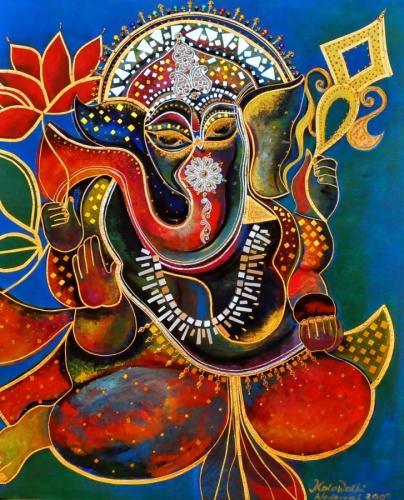 Ganesha as Mystical