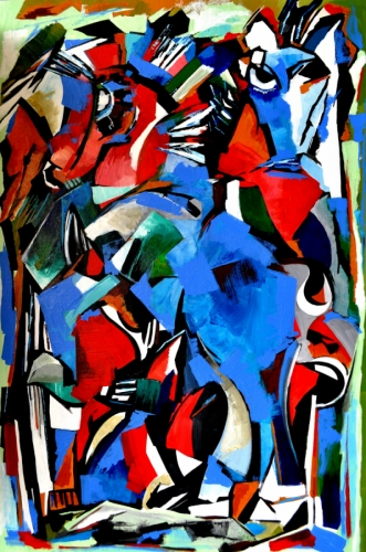 Horses in Abstract 1