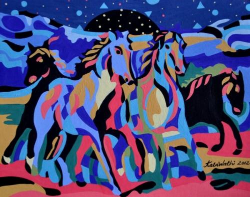 Horses at Solar Systems