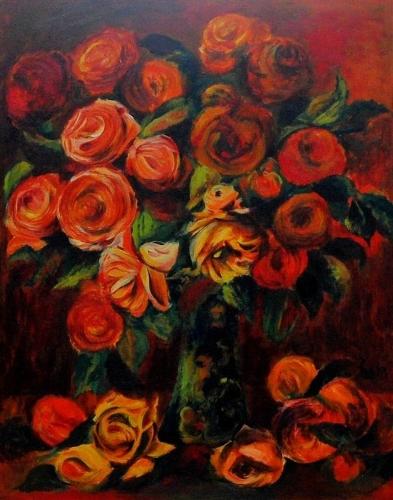 Renoir´s Roses