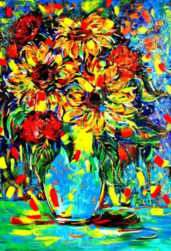 Sunflower Spills