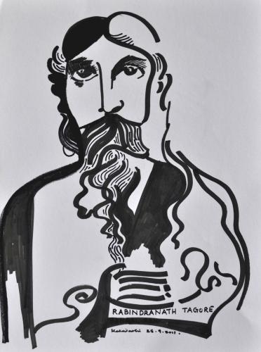 The Mystic Rabindranath Tagore