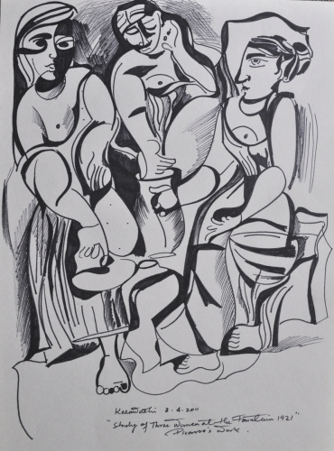 Picasso Three Woman
