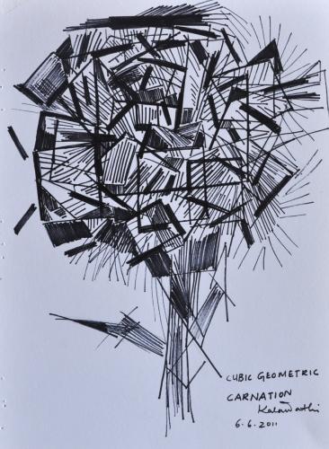 Geometric Carnation