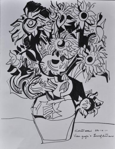 Van Gogh´s Sunflowers