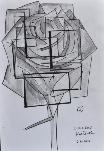 Cubic Rose
