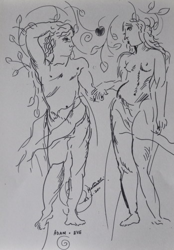 Nudes Adam And Eve