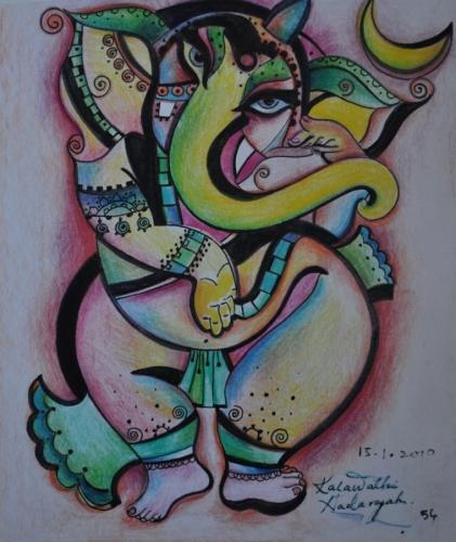 Ganesha Abstract 2