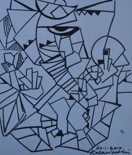 Ganesha Abstract 4