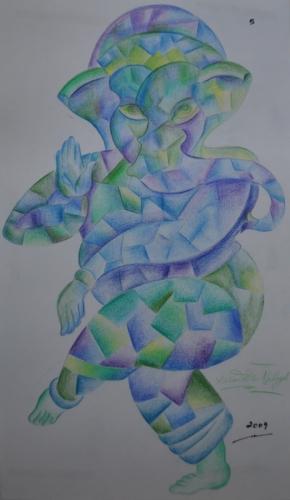 Ganesha Cubism