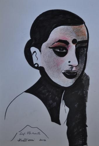 Self- Portrait Kalawathi