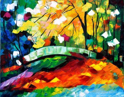 Autumn Tree- After Leonid Afremov