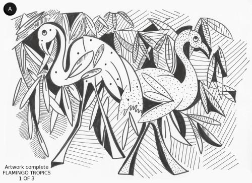 Flamingo Tropics 1