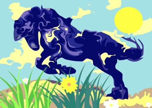 Flowing Stallion