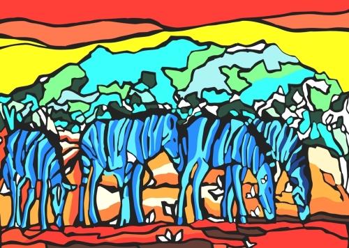 Zebras Havanna