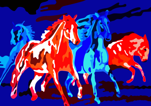 Four Horses Melting