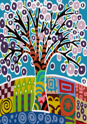 Tree- Inspired by Carla Gerhard