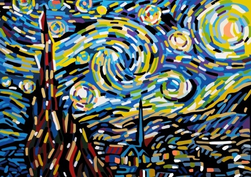 Starry Night- After Vangogh