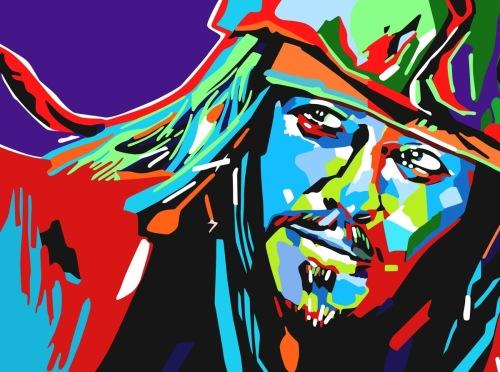 Jack Sparrow Pop Art