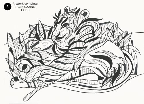 Tiger Gazing
