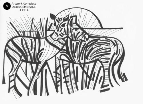 Zebra Embrace