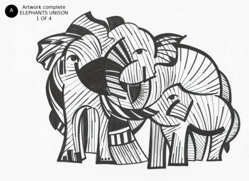 Elephants Unison