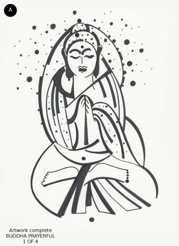 Buddha Prayerful