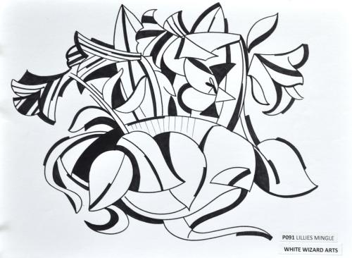 Lillies Mingle
