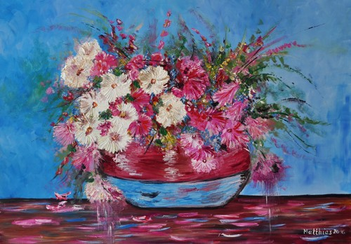 Daises and Wild Flowers