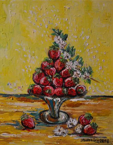 Strawberries on Stand