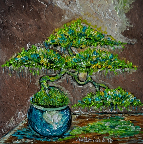 Bonsai – the abstract one