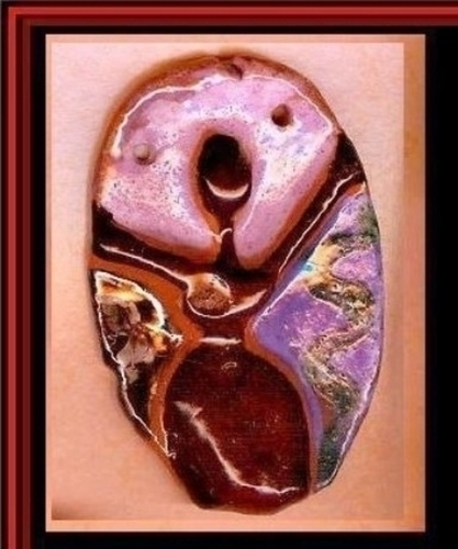 Breast Cancer Survivor Art Pendant B41
