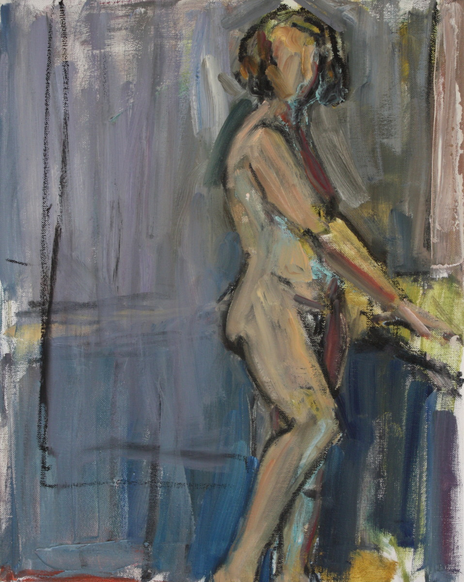 Figure In Blue (large view)