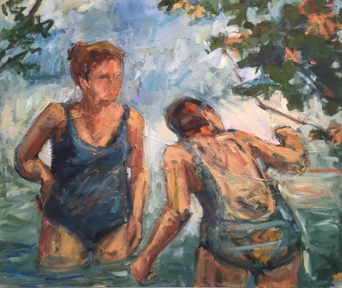 Bathers In Blue (large view)