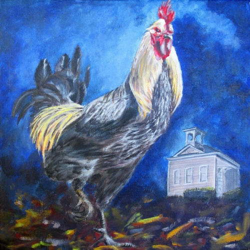 SCHOOL HOUSE CHICKEN by Karen Peterson