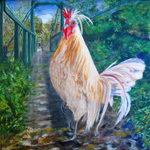SWINGING BRIDGE CHICKEN