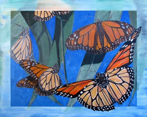 PISMO MONARCHS by Karen Peterson