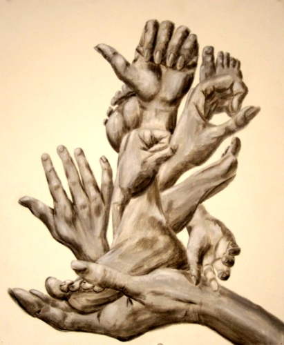 HANDS AND FEET by Karen Peterson