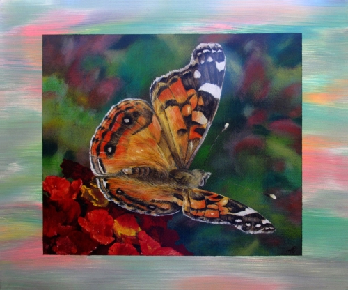 PAINTED LADY by Karen Peterson