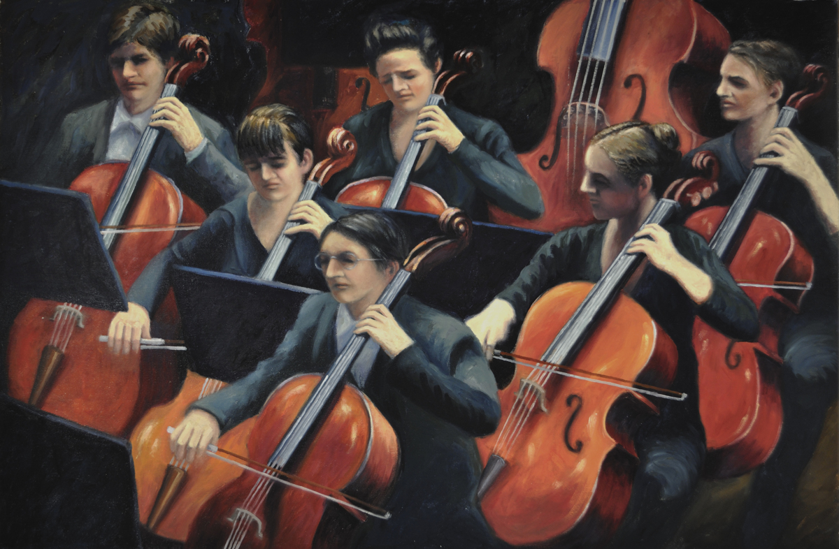 Cello Section (large view)