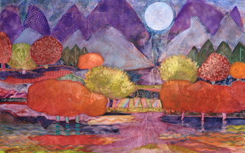 Moonbeams Spill Into the Valley