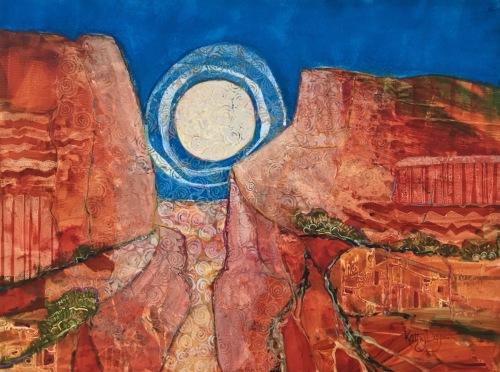High Mesa Moon