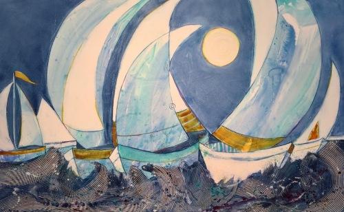 Under an Autumn Moon by Kathy Daywalt