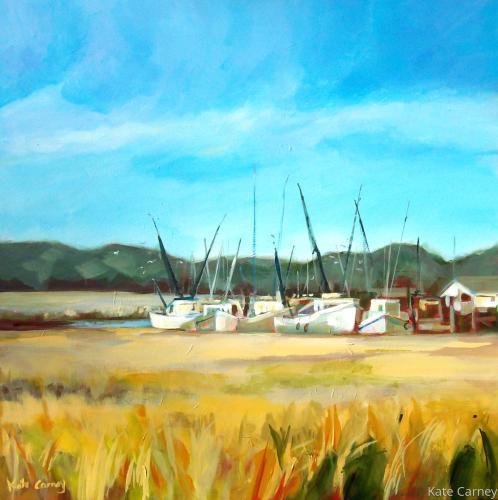 St. Simons Shrimp Fleet by Kate Carney